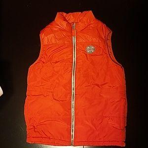 Orange Puffer Vest by Oshkosh